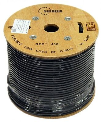 Altelix AX240FR LMR-240 Equivalent Coax Cable 1000/' FT Reel on Wooden Spool