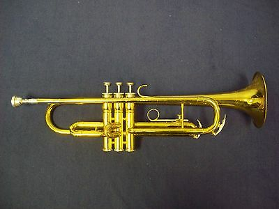 Ready To Play! Solid! King Tempo 600 Trumpet Usa +  Bach 7C Mouthpiece + Case