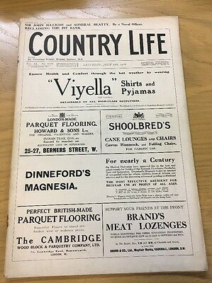 Vintage Country Life Magazine Juky 15Th 1916