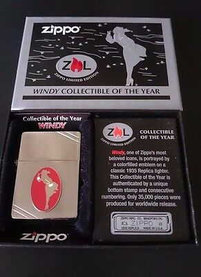 Zippo Collectible of the year 2013 - WINDY - Limited Edition - Neu - OVP