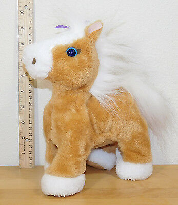FurReal Friends Butterscotch My Walkin' Pony Walking Horse Fur Real EUC