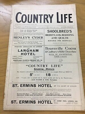 Vintage Country Life Magazine October 10Th 1914