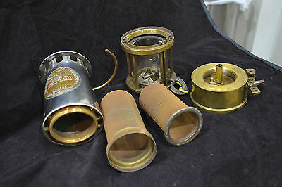 Vintage Eccles Protector Lamp & Lighting Type 6 Coal Miners Brass Safety Lamp 2