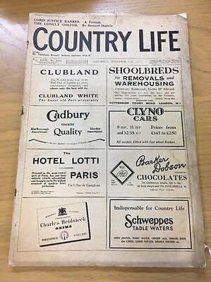 Vintage Country Life Magazine December 17Th 1927