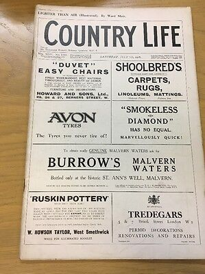 Vintage Country Life Magazine July 6Th 1918