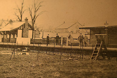 antique Moniaive station,cairn valley railwey 1905