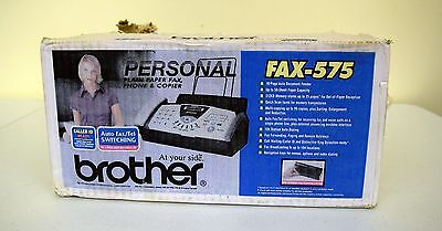 Amazing Brand New Brother Fax 575 Brand New Sealed Caller ID Ready