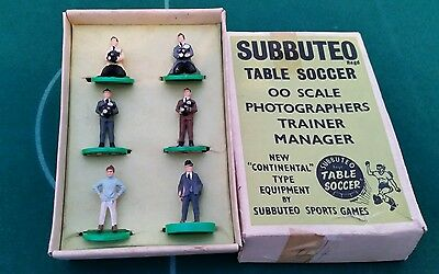 Subbuteo Photographers, Trainer & Manager -  Accessories C104 Boxed Set