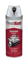 PlastiKote 229;For Engine Surface; Clear; Spray Can; 12 Ounce