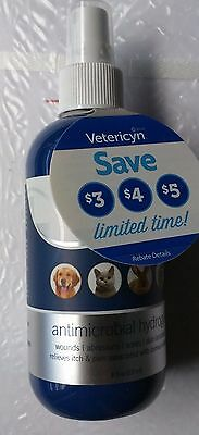 Vetericyn All Animal Wound and Skin Care Antimicrobial Hydrogel 8 oz