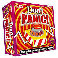 dont panic board game , new and sealed