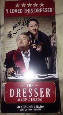 Reece Shearsmith Signed The Dresser Theatre Flyer Psychoville & New Tricks