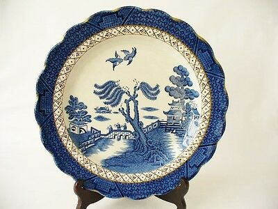 Booths  Plate - Willow Pattern - Chinoiserie Style Booths Plate -