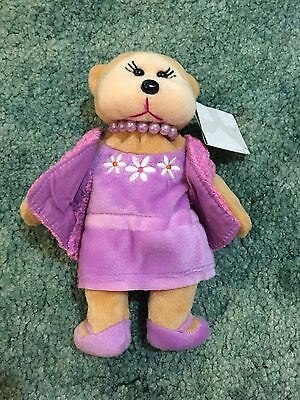 Beanie Kids + Mum Beanie The Bear + Retired + Brand New With Tags