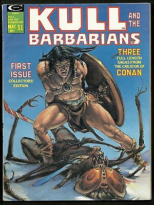 Kull and The Barbarians 1 2 3 (Lot of 3) Red Sonja 1st Print Complete Set 1975