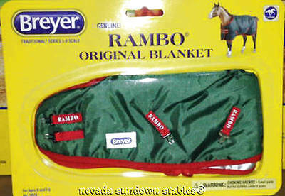 Breyer Model Horse Accessories Traditional Size Rambo Horse Blanket