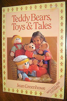 Jean Greenhowe Teddy Bears Toy & Tales Book Sew Dolls Clothes Cars Camel Dog Zoo