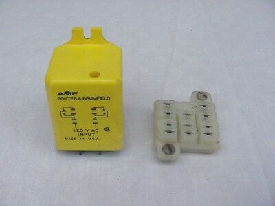 Potter & Brumfield CUA-42-71018 Time Delay Relay On Operate Fixed 10 Sec ~ Used