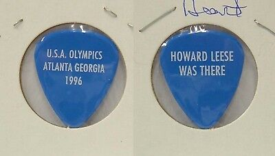 Heart - Old Howard Leese 1996 Olympics Cancelled Show Guitar Pick