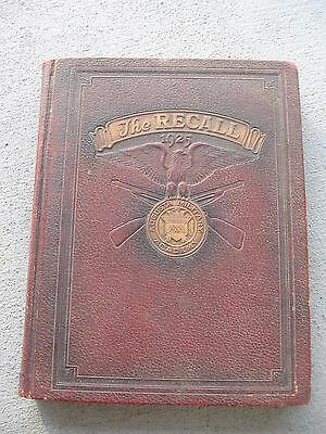 1925 Vol. 13 - THE RECALL YEARBOOK : Augusta Military Academy Ft. Defiance, VA.