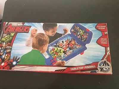 Marvel Avengers Tabletop Pinball Never Removed From Box