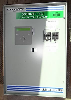 1Ph Micro Are-M Series 125Vdc Float Battery Charger Rectifier Are-M13025A