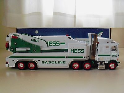 1999 Hess Toy Truck - Truck / Trailer Space Shuttle With Satellite - New In Box