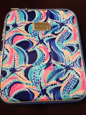 LILLY PULITZER AGENDA FOLIO NEW WITH TAGS- Multi Ocean Jewels