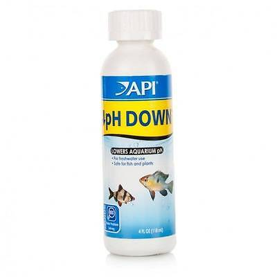 API pH Down 118ml - PH Adjuster Buffer Freshwater Aquarium Fish Tank