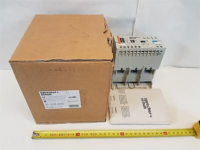 Sprecher+Schuh CEF1-12 Motor Protection Relay 230VAC 50/60Hz 180A 110VAC New