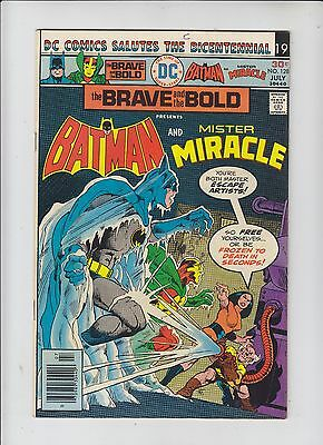 DC Comics The Brave and the Bold Batman Mister Miracle Comic No 128 - July 1976