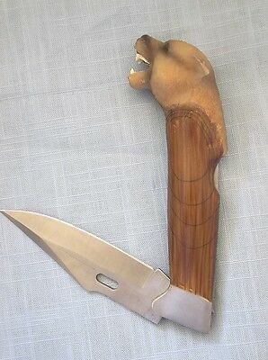 Couger Head Knife, Collectible