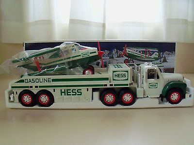 2002 Hess - Hess Toy Truck And Airplane - New In Box