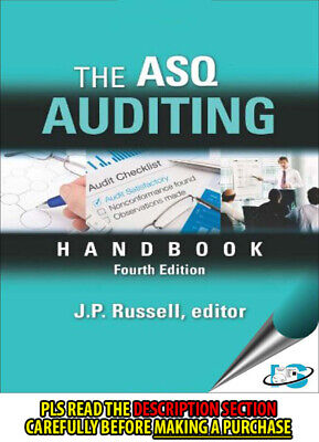 FAST SHIP: The Asq Auditing Handbook 4E by J.P. Russe