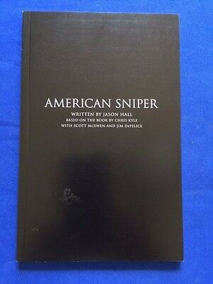 American Sniper - Specially Produced Script For Golden Globes Nominating Purpose