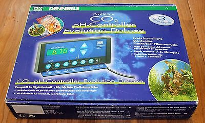 Dennerle pH-Controller Evolution DeLuxe CO2-Steuerung + JBL CO2 ANLAGE + ZUGABE
