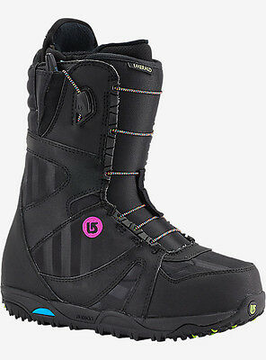 2016 Burton Emerald Women's Snowboard Boot Black/multiclor Size 7