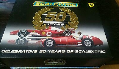 SCALEXTRIC 1/32 C2782A 50TH Anniversery Pack - No 4955 of 7000 - Free Postage