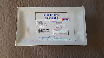 Medtrol Inc Mercury Spill Clean-Up Kits 90-142 MSDS Included