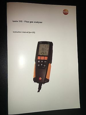 The Testo 310 Combustion Analyzer