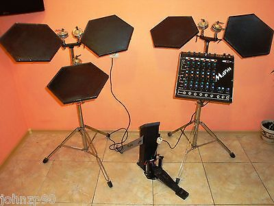Marsh Uds Kit Марш Vintage Soviet Analog Drum Synthesizer Ussr 5 Pads Great Cond