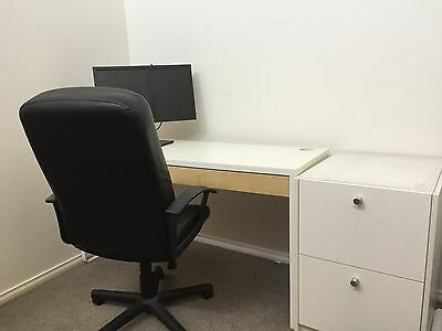 Office Furniture_desk, chair, draws