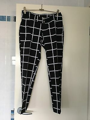 Ladies Belted Golf Pant (ankle length) – Size 8 Australian