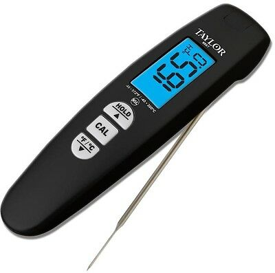 Digital Thermocouple Food Thermometer Home Kitchen Cooking Gadget Tool Black New