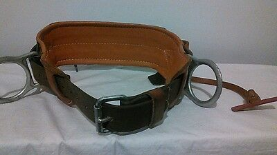 Klein Tools lineman's safety areal belt, model S5299N21, size 34-42