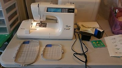 Brother Pacesetter PC-7500 Computerized Sewing Embroidery Machine