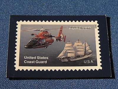 USPS Promo Forever Stamp Magnet United States Coast Guard  2015 USA Military