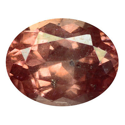 1.52 ct HUGE UNIQUE RARE NATURAL FROM EARTH MINED PINKISH RED MALAYA GARNET