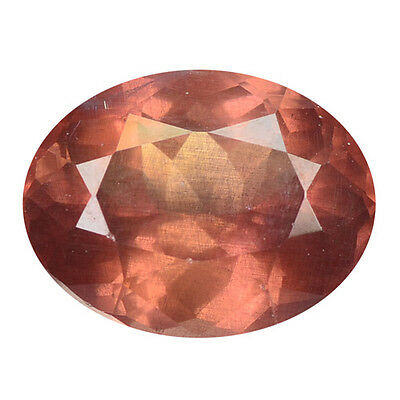 3.21 ct HUGE UNIQUE RARE NATURAL FROM EARTH MINED PINKISH RED MALAYA GARNET
