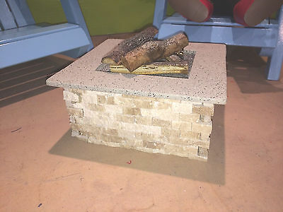 Fire Pit for American Girl Size Dolls (18 inch dolls)